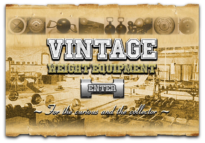 Enter Vintage Weight Equipment
